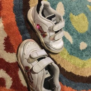 Stride Rite Light Up Fireman Sneakers Size 7 M